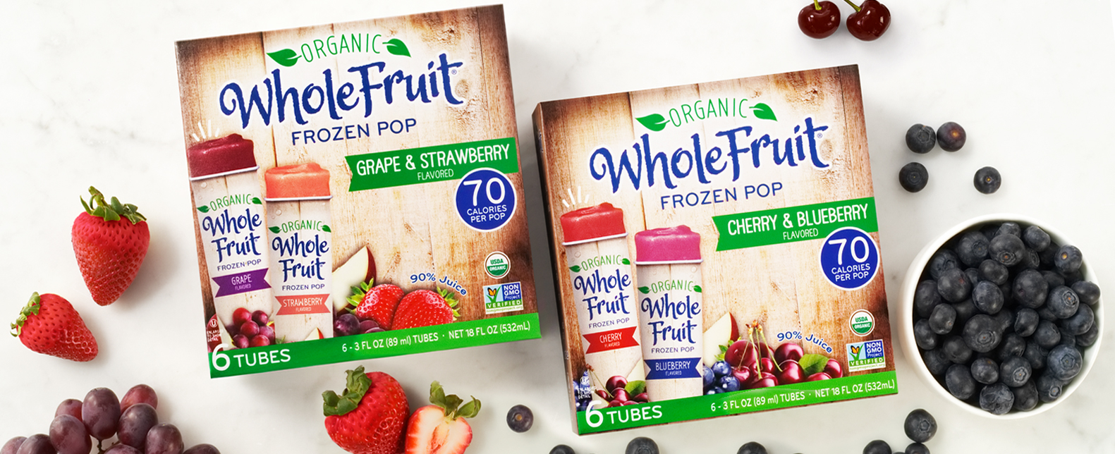 Whole Fruit Organic Juice Tubes