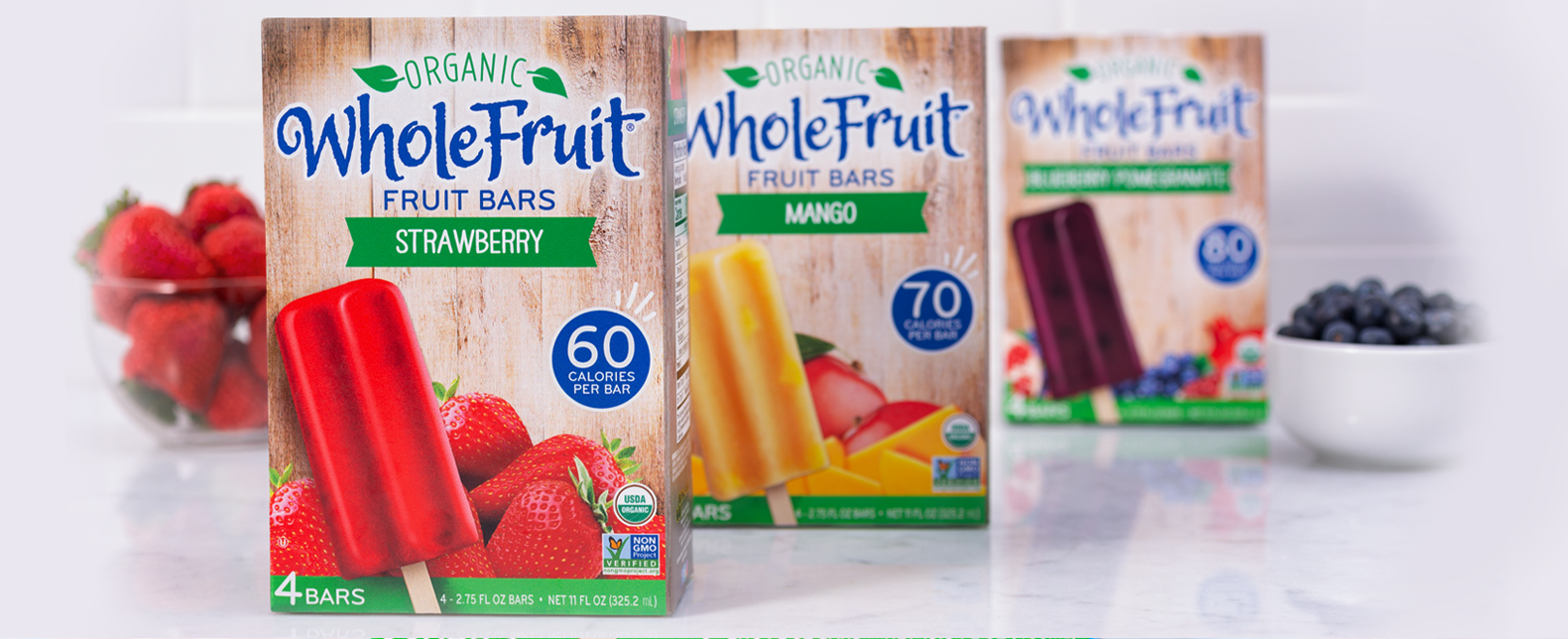 Whole Fruit Organic Fruit Bars