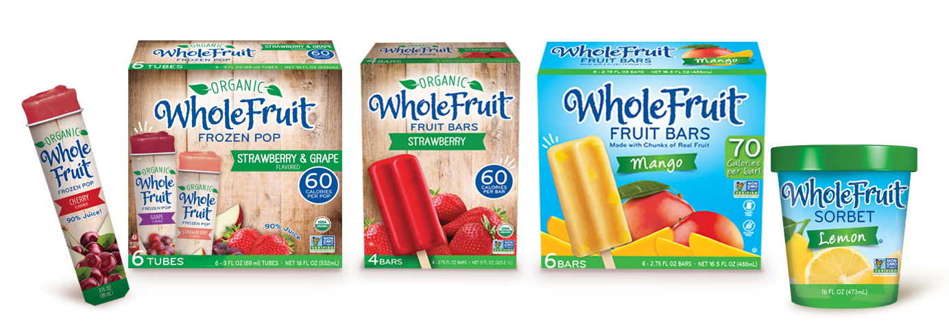 Whole Fruit Frozen Novelties